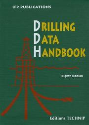 Cover of: Drilling Data Handbook, 8th Ed. (Ifp Publications)