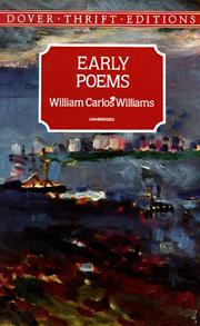 Cover of: Early poems