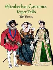Cover of: Elizabethan Costumes Paper Dolls (History of Costume)