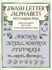 Cover of: Swash Letter Alphabets