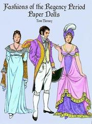 Cover of: Fashions of the Regency Period Paper Dolls