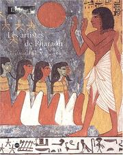 Cover of: Les artistes de Pharaon