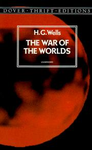 Cover of: The war of the worlds | H. G. Wells