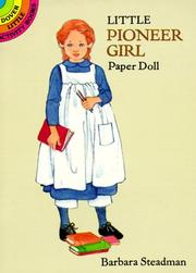 Cover of: Little Pioneer Girl Paper Doll