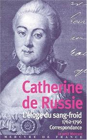 Cover of: Catherine II