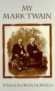 Cover of: My Mark Twain: reminiscences and criticisms