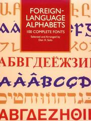 Cover of: Foreign-language alphabets