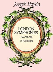 Cover of: London Symphonies Nos. 93-98