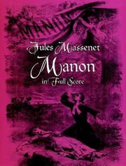 Cover of: Manon in Full Score