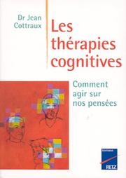 Cover of: Les Thérapies cognitives