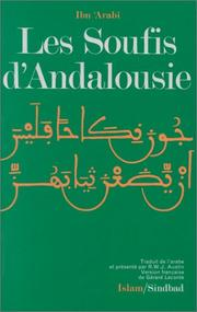 Cover of: Les Soufis d'Andalousie
