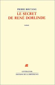 Cover of: Le secret de René Dorlinde