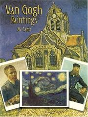 Cover of: Van Gogh paintings: 24 Cards (Card Books)