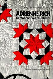 Cover of: Adrienne Rich