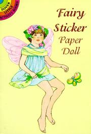 Cover of: Garden Fairy Sticker Paper Doll