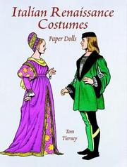 Cover of: Italian Renaissance Costumes Paper Dolls (Paper Doll Series)