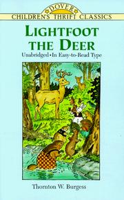 Cover of: Lightfoot the Deer