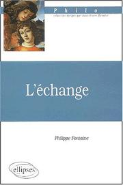 Cover of: L'echange prepa hec 2002-2004