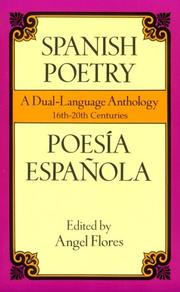 Cover of: Spanish Poetry | Angel Flores