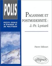 Cover of: Paganisme et Postmodernité