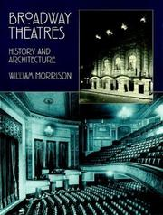 Cover of: Broadway theatres