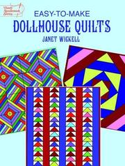 Cover of: Easy-to-make dollhouse quilts