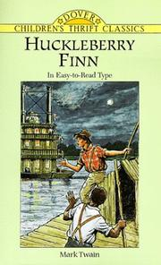 Cover of: Huckleberry Finn (Dover Children