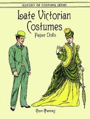 Cover of: Late Victorian Costumes Paper Dolls (History of Costume)