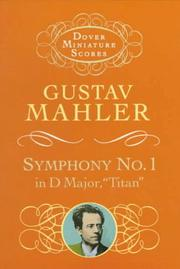 Cover of: Symphony No. 1 in D Major