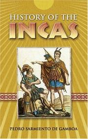 Cover of: Historia de los Incas