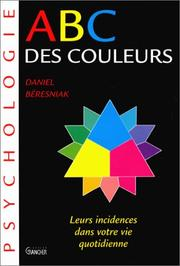 Cover of: ABC des couleurs