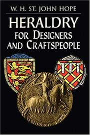 Cover of: Heraldry for designers and craftspeople