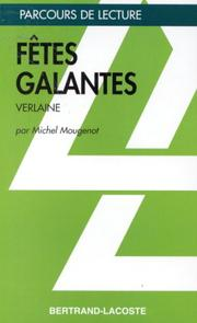Cover of: Fêtes galantes