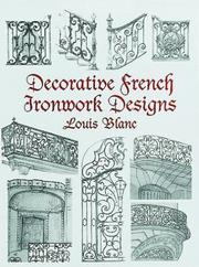 Cover of: Decorative French Ironwork Designs