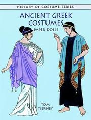 Cover of: Ancient Greek Costumes Paper Dolls (History of Costume)