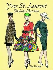 Cover of: Yves St. Laurent Fashion Review