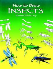 Cover of: How to Draw Insects (How to Draw (Dover)) | Barbara Soloff Levy
