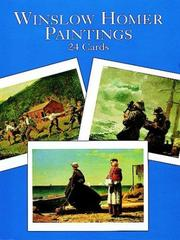 Cover of: Winslow Homer Paintings