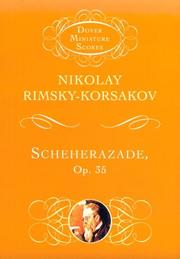 Cover of: Scheherazade, Op. 35
