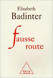 Cover of: Fausse route