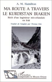 Cover of: Ma route à travers le Kurdistan Irakien