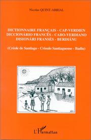 Cover of: Dictionnaire français/capverdien 1997