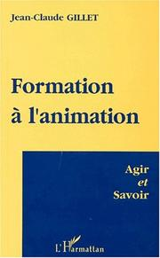 Cover of: Formation à l'animation