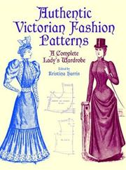 Cover of: Authentic Victorian Fashion Patterns