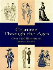 Cover of: Costume Through the Ages | Erhard Klepper