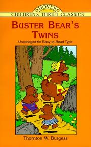 Cover of: Buster Bear's twins