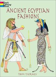 Cover of: Ancient Egyptian Fashions (History of Fashion) | Tom Tierney