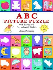 Cover of: ABC Picture Puzzle | Anna Pomaska
