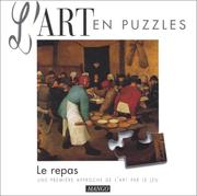 Cover of: L art en puzzle le repas