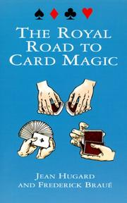 Cover of: The royal road to card magic
